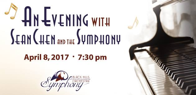 An Evening with Sean Chen and the Black Hills Symphony Orchestra