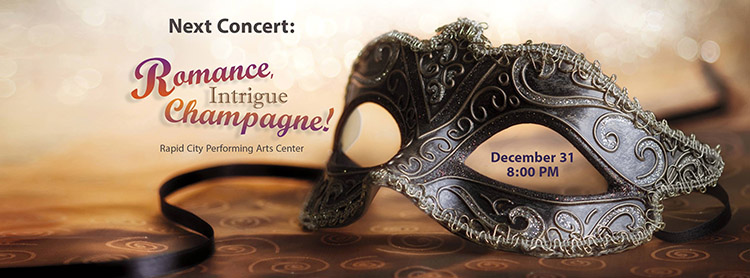 BHSO – Romance, Intrigue, Campagne – New Years Eve Concert